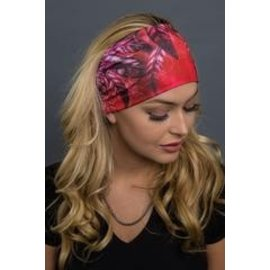 Hair Glove EZ Band Red Feathers