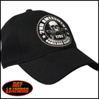 Hot Leather Hat 2nd Amendment