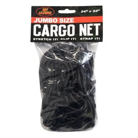 Hot Leather Stretchable Cargo Net 24x24