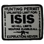 Biker's Stuff Patch ISIS Hunting Permit
