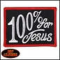 Hot Leather Patch 100% For Jesus 3in