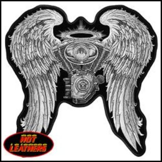 Hot Leather Patch Asphalt Angel 5in
