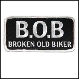 Hot Leather Patch B.O.B 4in