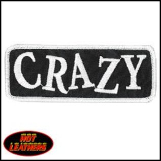 Hot Leather Patch Crazy 4in