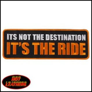 Hot Leather Patch Destination 10in