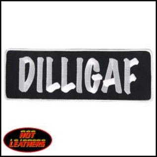 Hot Leather Patch DILLIGAF 10in