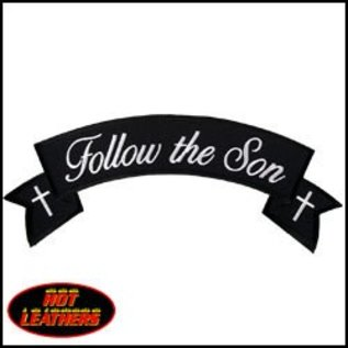 Hot Leather Patch Follow The Son 11in