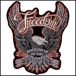 Hot Leather Patch Freedom Eagle 11 in