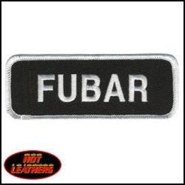 Hot Leather Patch Fubar 4in