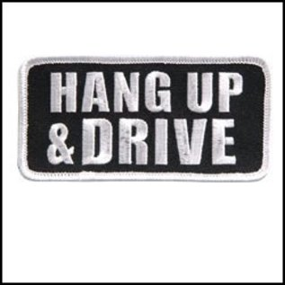 Hot Leather Patch Hang Up & Drive 4in
