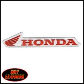 Hot Leather Patch Honda 5in