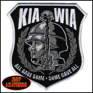 Hot Leather Patch KIA WIA 11in