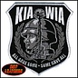 Hot Leather Patch KIA WIA 4in