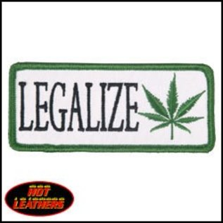 Hot Leather Patch Legalize 4in