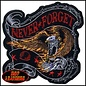 Hot Leather Patch Never Forget 5in