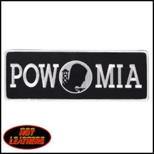 Hot Leather Patch POW Banner 10in