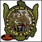 Hot Leather PATCH PROUD TO BE A BIKER MULTI 9W 10H