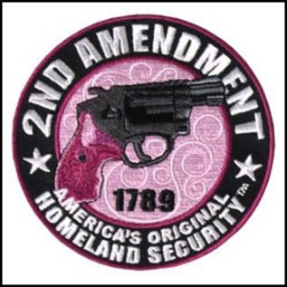 Hot Leather Patch Purple Homeland 3.5in