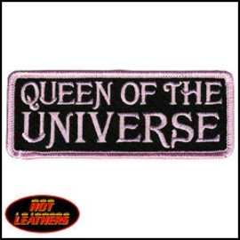 Hot Leather Patch Queen Of The Universe 4in