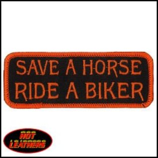 Hot Leather Patch Save A Horse 4in