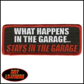 Hot Leather Patch Stays In The Garage 4in