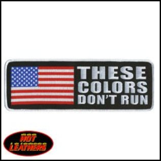 Hot Leather Patch These Colors Don?t Run 4in