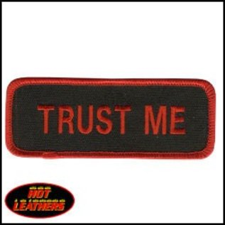 Hot Leather Patch Trust Me 4in