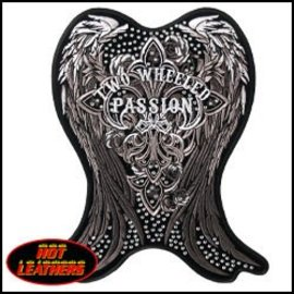 Hot Leather Patch Two Wheeled Passion 9in