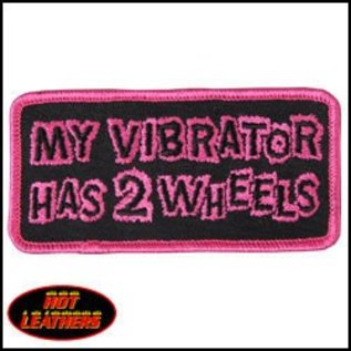 Hot Leather *DISCV Patch Vibrator Has 2 Wheels