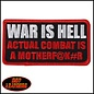 Hot Leather Patch Worth Fighting For 4in