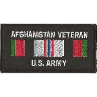 Jerwolf Enterprises Patch Afghan Vet Army