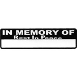 Real Company HS-In Memory Of