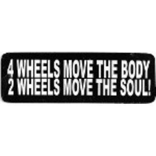 Real Company HS-4 Wheels Move..2 Wheels Move