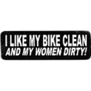 Real Company HS-I Like My Bike Clean