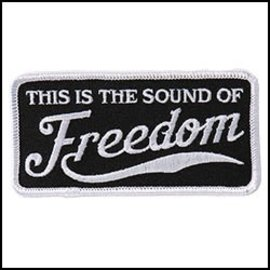 Hot Leather Patch This Is The Sound of Freedom 4in