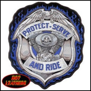 Hot Leather PATCH PROTECT & SERVE 5W 6H