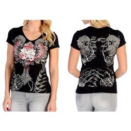 Liberty Wear Shirt Ladies Freedom Rose