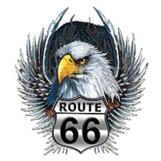 Route 66 Biker Gear Shirt Route 66 Eagle