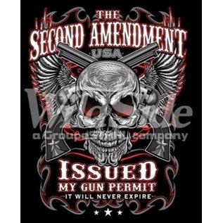 Route 66 Biker Gear Shirt 2nd Amendment Issued