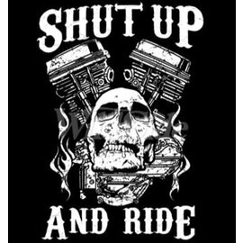 Route 66 Biker Gear Shirt Shut Up & Ride
