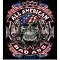 Route 66 Biker Gear Shirt All American Badass