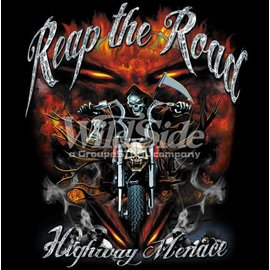Route 66 Biker Gear Shirt Reap The Road