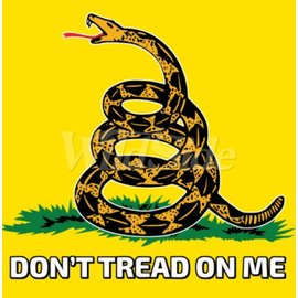 Route 66 Biker Gear Shirt Don't Tread on Me