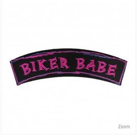 Patch Stop Patch Biker Babe 7in