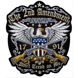 Patch Stop Patch 2nd Amend Don't Tread 12 in