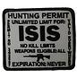Biker's Stuff Patch ISIS Hunting Permit