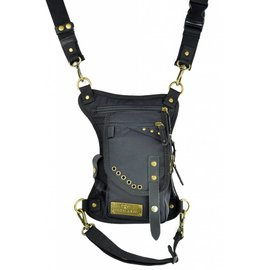 Ukoala Bags Ukoala Bag Dragon Compact Black