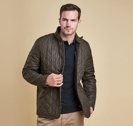 Barbour Chelsea Sportsquilt Jacket Ck Collection Men