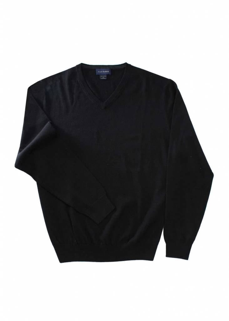 Scott Barber Merino V-Neck Sweater