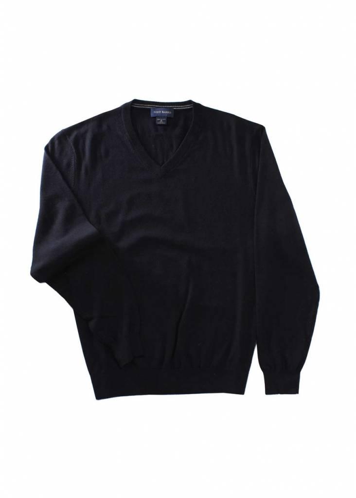 Scott Barber Merino V-Neck Sweater
